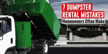 Dumpster Rental Mistakes Homeowners Make Blog